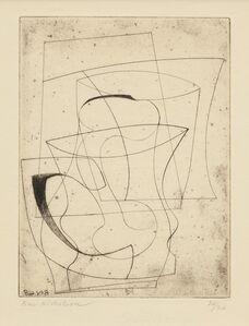 Ben Nicholson, 'jug & glass', 1948