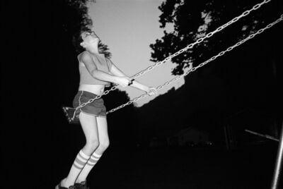 Bertien van Manen, 'David on swing, Vam, West Virginia', 1987