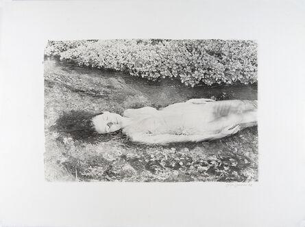 Joyce Tenneson, 'Self-Portrait in Stream', 1970