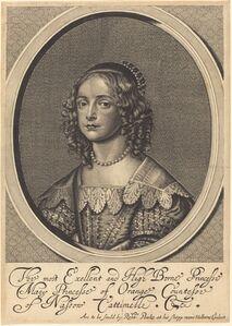 William Faithorne after Sir Anthony van Dyck, 'Mary, Princess of Orange'