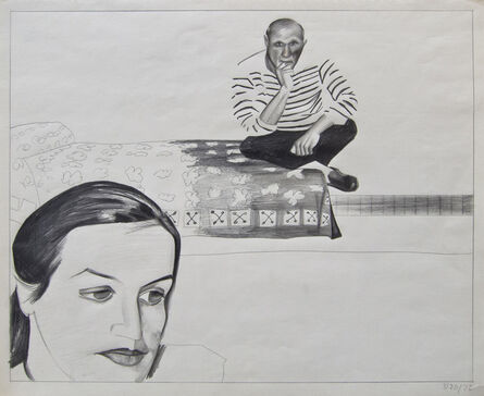 Patrick Angus, 'Picasso with Woman, 3/20/79', 1979