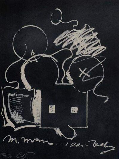 Claes Oldenburg, 'M. Mouse - 1 Ear Teabag', 1973