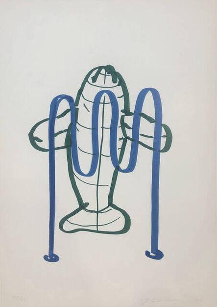 Jeff Koons, 'Dolphin (Bicycle Rack)', 2006