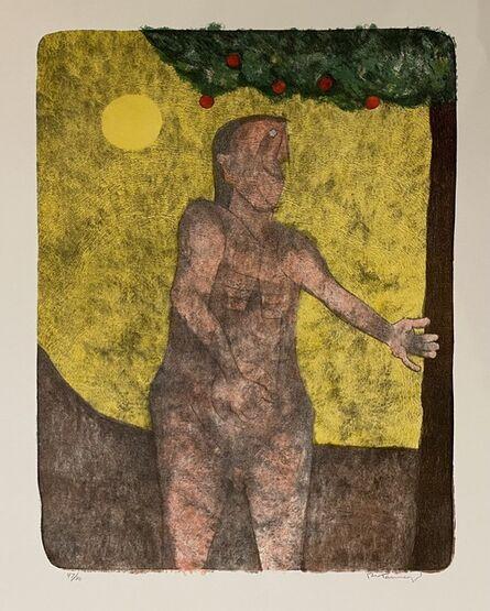 Rufino Tamayo, 'Adam', 1989
