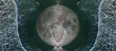 Sarah Ciracì, 'Like an Ocean with Its Waves (Moon)', 2017