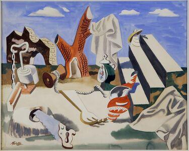 Jan Matulka, 'Surrealist Landscape', 1935