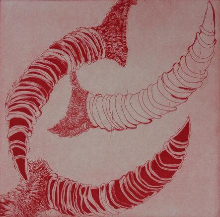 Manal Mahamid, 'Red Horn', 2016