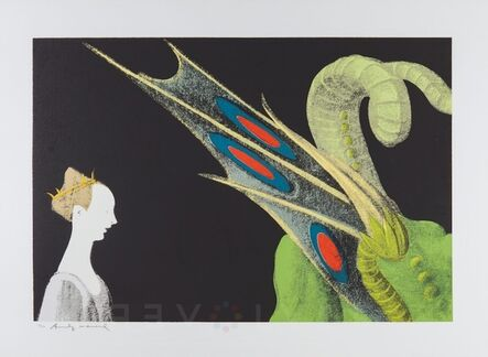 Andy Warhol, 'Paolo Uccello, St. George and the Dragon (FS II.324)', 1984