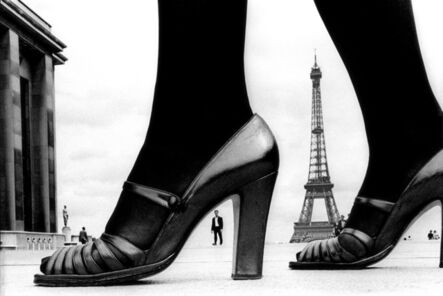 Frank Horvat, 'For Stern, Shoe and Eiffel Tower (A), Paris', 1974