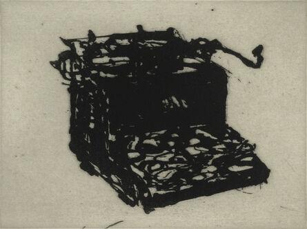 William Kentridge, 'Typewriter V', 2003