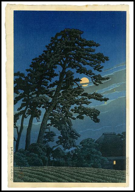 Kawase Hasui, 'Moon over Magome', 1930