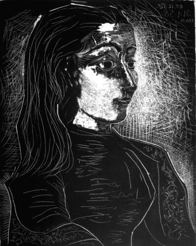 Pablo Picasso, 'Jacqueline de profil à droite', 1958