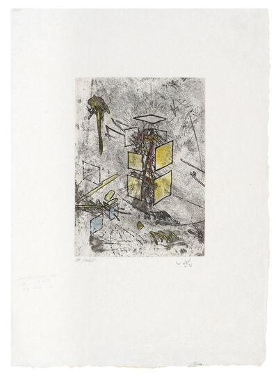 Roberto Matta, 'Droites Libérées: Plate 9', 1971