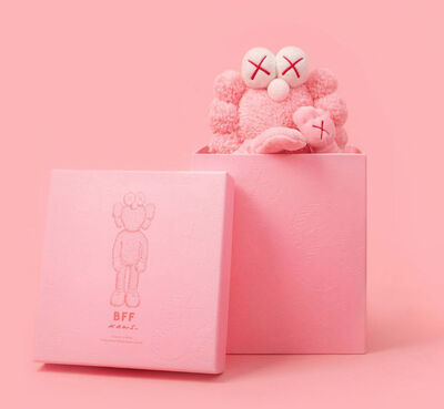 KAWS, 'BFF Pink Plush', 2019