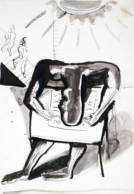Klaus Killisch, 'Der Schreiber', 1987