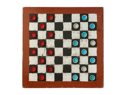 Filipe Branquinho, ' Untitled 13, Damas (Checkers)', 2020