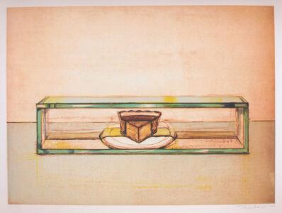 Wayne Thiebaud, 'Pie Case ', 2002