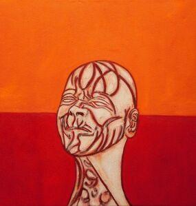 Tony Bevan, 'Self Portrait after Messerschmidt (PC103)', 2010