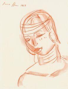 Irma Stern, 'Woman's Head', 1959