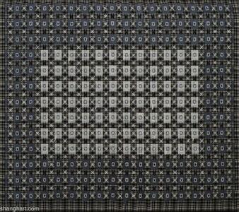 Ding Yi 丁乙, 'Appearance of Crosses 97-22 十示 1997-22', 1997