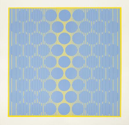 Julian Stanczak, 'Yellow One ', 1970