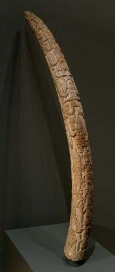 Unidentified Artist(s) of the Igbesanmwan Carvers Guild, 'Tusk for the Royal Benin (Edo) Ancestral Shrine', 1851-1888