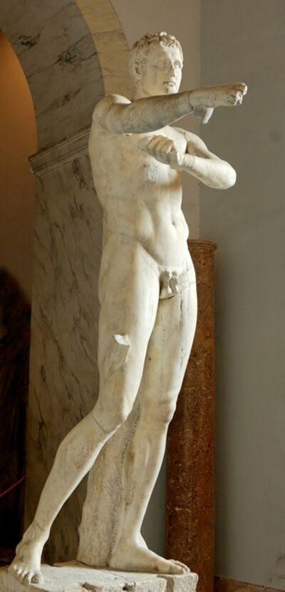 Lysippos, 'The Man Scraping Himself (Apoxyomenos), Roman copy after the original bronze of ca. 350-325 B.c.', 1st century A.D.