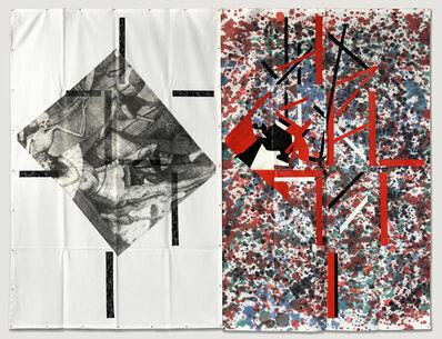 Eugenio Dittborn, 'Caer Airmail Painting No. 187', 2017
