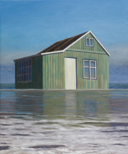 Alex Tubis, 'Dacha in the Sea', 2016