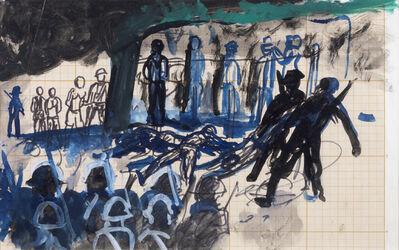 """Antonio Berni, 'Sin título (La matanza de Daejeon). De la serie """"Guerra de Corea"""".', ca. 1965"""