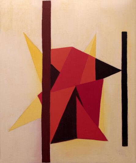 Zubeida Agha, 'Composition', 1988