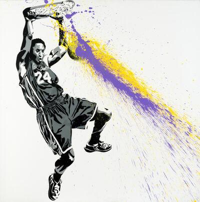 Mr. Brainwash, 'Kobe Bryant', 2009