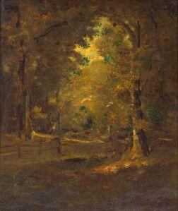 Ralph Albert Blakelock, 'California Landscape', Late 19th century