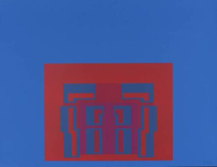 Robyn Denny (1930-2014), 'The Paramount Suite (blue)', 1969