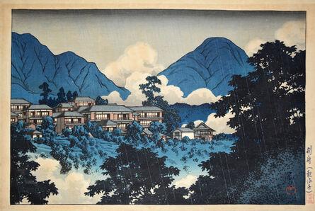 Kawase Hasui, 'Kainonji Temple in Beppu: Hot Spring Resort', ca. 1927