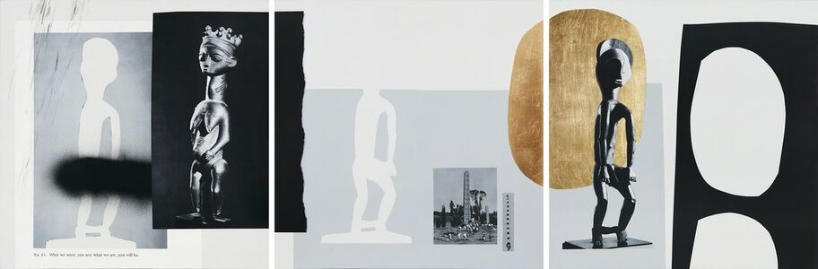 Ramsey Dau, 'What We Were, You Are, What We Are, You Will Be (Tryptic)', 2015