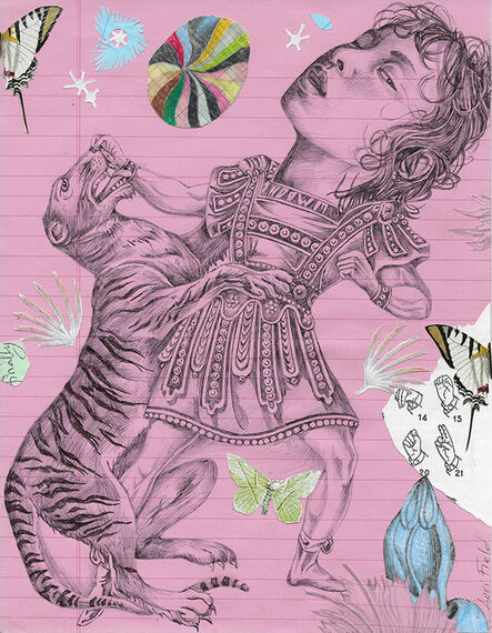 Lori Field, 'The Lady and the Tiger', 2019