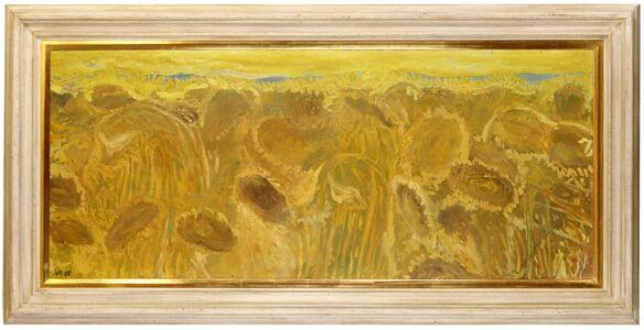 Norman Adams, 'Sunflowers', 1985