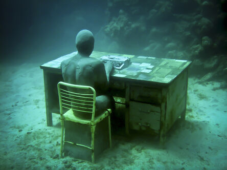 Jason deCaires Taylor, 'The Lost Correspondent (1)', 2012