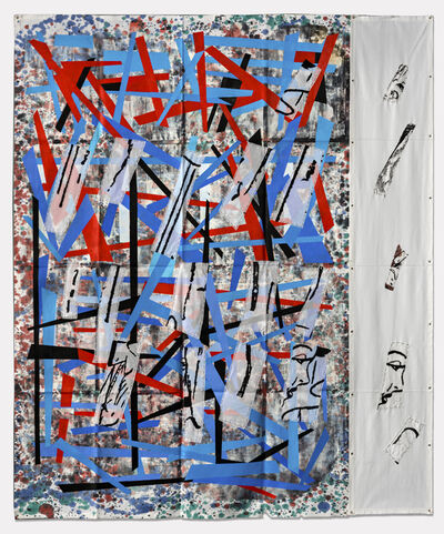 Eugenio Dittborn, 'Mirar a Airmail Painting No. 192', 2017