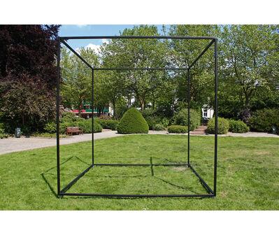 Juan Pablo Renzi, 'Prisma de aire (Materialización de las coordenadas espaciales de un prisma de aire)', 1967/1984