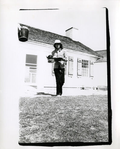 Andy Warhol, 'Mick Jagger (serving tea in Montauk) ', 1975