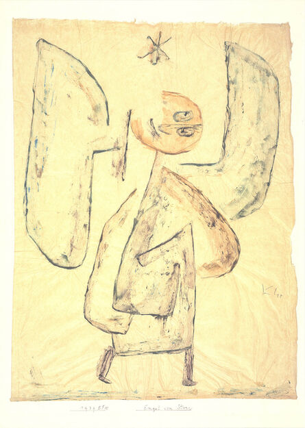 Paul Klee, 'Angel From The Star', 2018