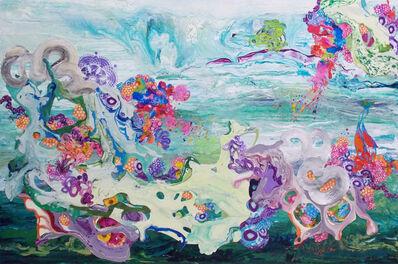 Kimber Berry, 'Painting Flowers in the Desert', 2014