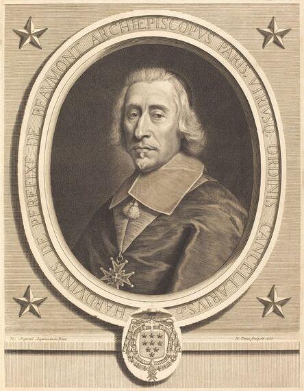 Nicolas Pitau I after Pierre Mignard I, 'Perefixe de Beaumont', 1666