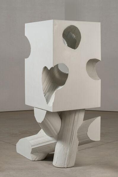 Mel Kendrick, 'White Block 2', 2015