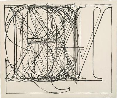 Jasper Johns, 'Alphabet (G. 126, U.L.A.E. 69)', 1969