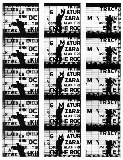 "William Klein, 'Filmstrips from ""Broadway by Light "" # 1, New York', 1958"