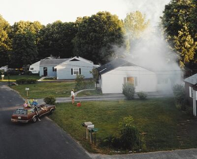 Gregory Crewdson, 'Untitled (House Fire)', 1999