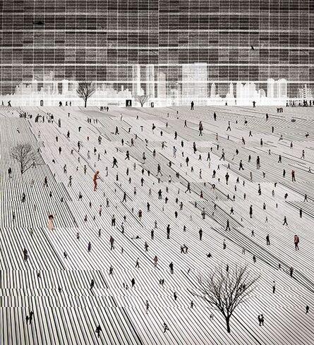Young Sam Kim, 'City Life - 03', 2017